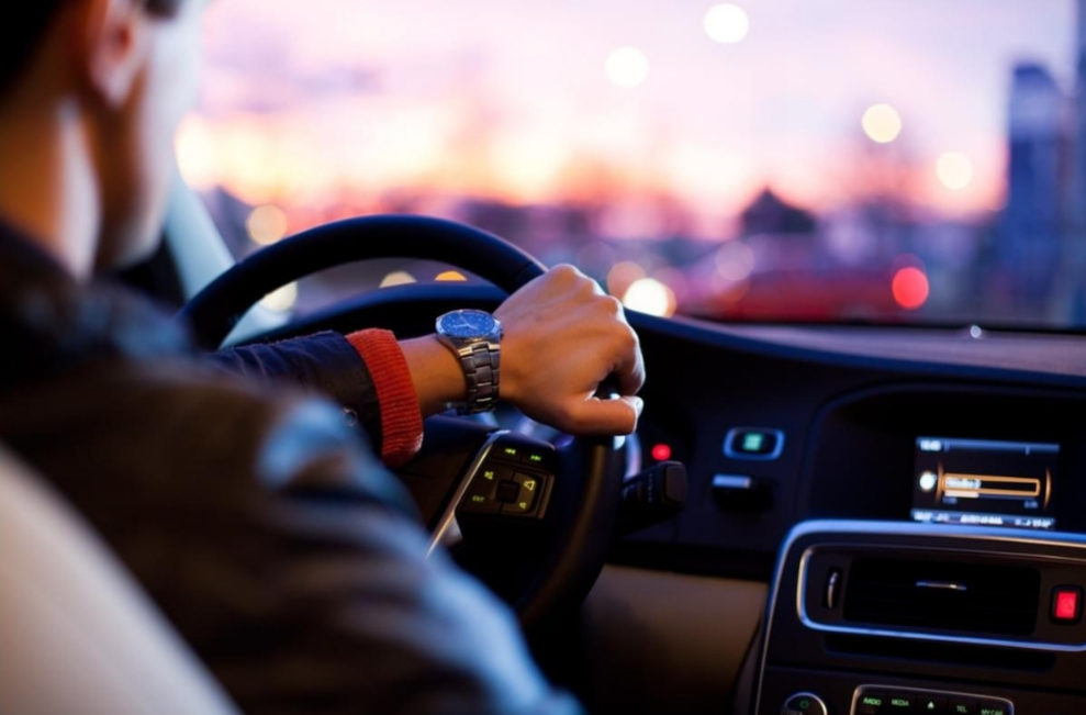 Conduite chauffeur